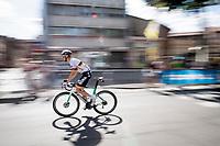German National Champion Maximilian Schachmann (DEU/Bora-Hansgrohe)<br /> <br /> Stage 10: Saint-Flour to Albi(217km)<br /> 106th Tour de France 2019 (2.UWT)<br /> <br /> ©kramon