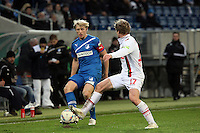 Andreas Beck (Hoffenheim) gegen Marcel de Jong (Augsburg)