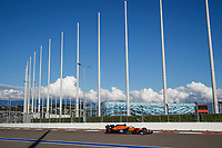 24th September 2021; Sochi, Russia; F1 Grand Prix of Russia free practise sessions;  3 Daniel Ricciardo AUS, McLaren F1 Team, F1 Grand Prix of Russia at Sochi Autodrom