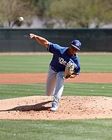 Confesor Inoa - Los Angeles Dodgers 2018 spring training (Bill Mitchell)