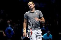 Dominic Thiem (AUT) VSNole Djokovic (SRB) <br /> London 12/11/2019 O2 Arena <br /> Nitto ATP Finals 2019 <br /> Photo Roberto Zanettin / Insidefoto