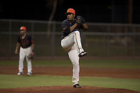 AZL Giants Black relief pitcher Jose Maita (39) delivers a pitch during an Arizona League game against the AZL Athletics at the San Francisco Giants Training Complex on June 19, 2018 in Scottsdale, Arizona. AZL Athletics defeated AZL Giants Black 8-3. (Zachary Lucy/Four Seam Images)