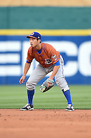 Durham Bulls shortstop Hak-Ju Lee (2) during a game against the Buffalo Bisons on July 10, 2014 at Coca-Cola Field in Buffalo, New  York.  Durham defeated Buffalo 3-2.  (Mike Janes/Four Seam Images)