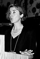 Montreal (qc) CANADA - file Photo - 1991 - <br /> <br /> <br /> Violette Trepanier