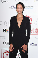 Madeleine Mantock<br /> at the 2017 Critic's Circle Film Awards held at the Mayfair Hotel, London.<br /> <br /> <br /> ©Ash Knotek  D3219  22/01/2017