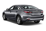 Car pictures of rear three quarter view of 2018 Mazda Mazda6 Dynamique 4 Door Sedan Angular Rear