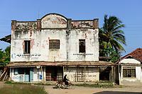 TANZANIA Tanga, colonial buildíng in Pangani