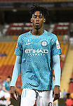 BRISBANE, AUSTRALIA - OCTOBER 30: Bruce Kamau of Melbourne warms up before the round 5 Hyundai A-League match between the Brisbane Roar and Melbourne City at Suncorp Stadium on November 4, 2016 in Brisbane, Australia. (Photo by Patrick Kearney/Brisbane Roar)