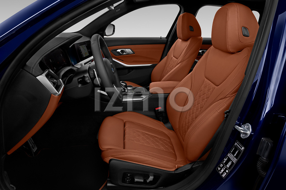 Front seat view of 2020 BMW 3-Series M-Sport 5 Door Wagon Front Seat  car photos