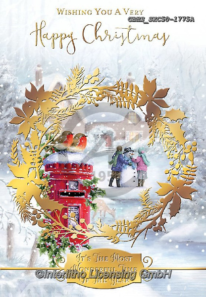 John, CHRISTMAS LANDSCAPES, WEIHNACHTEN WINTERLANDSCHAFTEN, NAVIDAD PAISAJES DE INVIERNO, paintings+++++,GBHSSXC50-1775A,#xl#