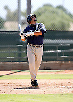 Jaff Decker / San Diego Padres 2008 Instructional League..Photo by:  Bill Mitchell/Four Seam Images