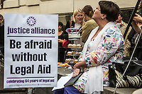 """30.07.2013 - Justice Alliance presents: """"Rally for Legal Aid"""""""