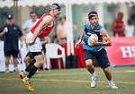 Tsunami vs KPMG during the Cup Semi Final part of Swire Touch Tournament on 03 September 2016 in King's Park Sports Ground, Hong Kong, China. Photo by Marcio Machado / Power Sport Images