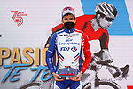 David Gaudu (FRA) Groupama-FDJ wins Stage 11 of the Vuelta Espana 2020 running 170km from Villaviciosa to Alto de la Farrapona, Spain. 31st October 2020.    <br /> Picture: Luis Angel Gomez/PhotoSportGomez | Cyclefile<br /> <br /> All photos usage must carry mandatory copyright credit (© Cyclefile | Luis Angel Gomez/PhotoSportGomez)