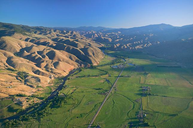Lemi Valley at sunrise
