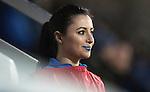 St Johnstone v Hamilton Accies…28.01.17     SPFL    McDiarmid Park<br />Blue lips Megan<br />Picture by Graeme Hart.<br />Copyright Perthshire Picture Agency<br />Tel: 01738 623350  Mobile: 07990 594431