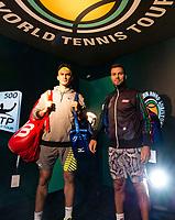 Rotterdam, The Netherlands, 17 Februari, 2018, ABNAMRO World Tennis Tournament, Ahoy, Tennis, Horia Tecau (ROU) / Jean-Julien Rojer (NED)<br /> <br /> Photo: www.tennisimages.com