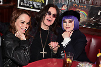 """HOLLYWOOD - FEBRUARY 20: Taryn Manning and Kelly Osbourne attend Ozzy Osbourne global tattoo and album listening party to celebrate his new album """"Ordinary Man"""" on February 20, 2020 in Hollywood, California. (Photo by Lionel Hahn/Epic Records/PictureGroup)"""