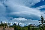 Lenticular Cloud, Mount Shasta, Shasta-Trinity National Forest, California