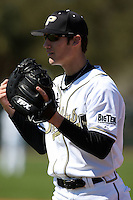 February 26, 2010:  First Baseman Cameron Perkins (22) of the Purdue Boilermakers during the Big East/Big 10 Challenge at Raymond Naimoli Complex in St. Petersburg, FL.  Photo By Mike Janes/Four Seam Images