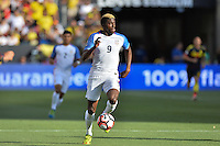 Santa Clara, CA - Friday June 03, 2016: United States forward Gyasi Zardes (9) during a Copa America Centenario Group A match between United States (USA) and Colombia (COL) at Levi's Stadium.