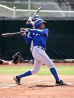 Fernando Garcia / Kansas City Royals spring training 2008..Photo by:  Bill Mitchell/Four Seam Images