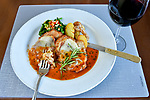 Gianni's Italian Bistro menu item photography.  Bay Area restaurant photography by Luke George 2019.