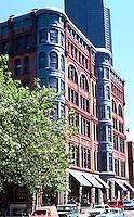 Seattle: Pioneer Building, James St. side. 1889-90. Photo '86.