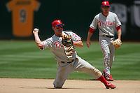 Jim Thome. Philadelphia Phillies vs Oakland Athletics. Oakland, CA 6/18/2005 MANDATORY CREDIT: Brad Mangin
