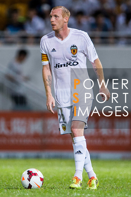 Jeremy Mathieu of Valencia CF in action during LFP World Challenge 2014 between Valencia CF vs BC Rangers FC on May 28, 2014 at the Mongkok Stadium in Hong Kong, China. Photo by Victor Fraile / Power Sport Images