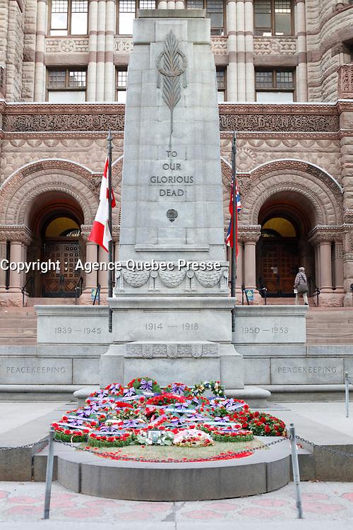 War memorial, Toronto, Canada