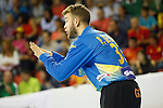 Spain's Perez de Vargas Moreno during 2018 Men's European Championship Qualification 2 match. November 2,2016. (ALTERPHOTOS/Acero)