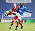 15.05.2021 Rangers v Aberdeen: Glen Kamara and Flo Kamberi
