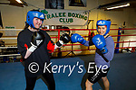 The Tralee Boxing Club are actively seeking new female members. L to r: Katie Dowling and Nora Scanlon