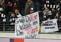 Fan von Stefan Ilsanker (Eintracht Frankfurt) - 20.02.2020: Eintracht Frankfurt vs. RB Salzburg, UEFA Europa League, Hinspiel Round of 32, Commerzbank Arena DISCLAIMER: DFL regulations prohibit any use of photographs as image sequences and/or quasi-video.