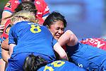 NELSON, NEW ZEALAND - SEPTEMBER 26: Farah Palmer Cup - Tasman Mako v Otago Saturday 26 September  2020 , Lansdowne Park Blenheim New Zealand. (Photo by/ Shuttersport Limited)