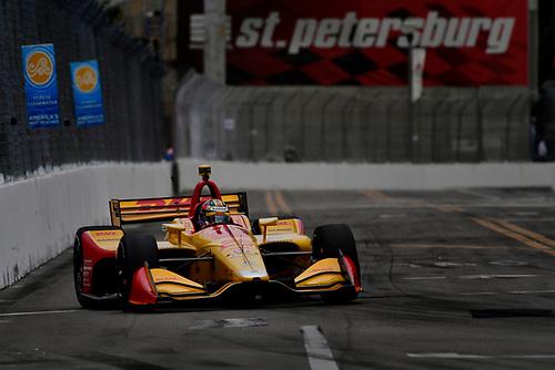 2018 Verizon IndyCar Series - Firestone Grand Prix of St. Petersburg<br /> St. Petersburg, FL USA<br /> Saturday 10 March 2018<br /> Ryan Hunter-Reay, Andretti Autosport Honda<br /> World Copyright: Scott R LePage / LAT Images<br /> ref: Digital Image _SRL6246