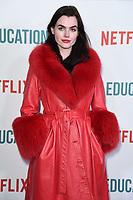"Charli Howard<br /> arriving for the ""Sex Education"" season 2 launch at Genesis Cinema Mile End Road, London.<br /> <br /> ©Ash Knotek  D3547 08/01/2020"