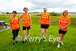 Taking part in the Tralee Born to Run clubs fundraising run in aid of Help Rose Bloom on Saturday morning, l to r: Anila Mucj, Hilda Jones, Elaine O'Connell and Breda Lynch.
