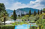 Italy, Veneto, Lake Garda, Malcesine-district Val di Sogno: Hotel Val di Sogno - pool | Italien, Venetien, Gardasee, Malcesine-Ortsteil Val di Sogno: Pool des Hotel Val di Sogno
