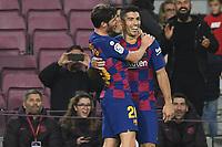 Luis Suarez, Sergi Roberto celebrate after a goal <br /> 07/12/2019 <br /> Barcelona - Maiorca<br /> Calcio La Liga 2019/2020 <br /> Photo Paco Largo Panoramic/insidefoto <br /> ITALY ONLY