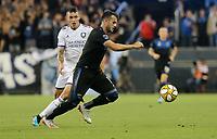 SAN JOSE, CA - AUGUST 31: Valeri Qazaishvili of the San Jose Earthquakes during a Major League Soccer (MLS) match between the San Jose Earthquakes and the Orlando City SC  on August 31, 2019 at Avaya Stadium in San Jose, California.