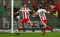 Steven Skrzybski 1:0, Simon Hedlund    celebration   1:0  / Sport / Football /   2.Bundesliga  DFL /  2017/2018 / 15.12.2017 / 1.FC Union Berlin FCU vs. FC Ingolstadt FCI Schanzer 171215011 /      <br />     *** Local Caption *** © pixathlon<br /> Contact: +49-40-22 63 02 60 , info@pixathlon.de