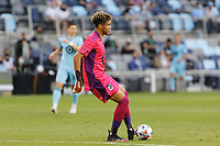 SAINT PAUL, MN - MAY 1: Dayne St. Clair #97 of Minnesota United FC during a game between Austin FC and Minnesota United FC at Allianz Field on May 1, 2021 in Saint Paul, Minnesota.