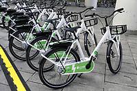 """- Milano, primo raduno internazionale dei veicoli elettrici """"E_mob2018 è  tempo di ricarica!"""". Biciclette elettriche a pedalata assistita Bitride Zehus per il bike sharing<br /> <br /> - Milan, the first international meeting of electric vehicles """"E_mob2018 is charging time!"""". Bitride Zehus electric pedal assisted bicycles for bike sharing"""