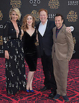 """Jenna Elfman,guest,Richard Elfman and Bodhi Elfman attends The Premiere Of Disney's """"Alice Through The Looking Glass"""" held at The El Capitan Theatre  in Hollywood, California on May 23,2016                                                                               © 2016 Hollywood Press Agency"""