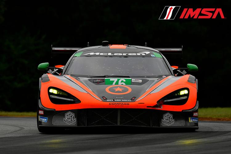 #76 Compass Racing McLaren 720S GT3, Paul Holton, Matt Plumb