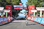 Clément Champoussin (FRA) AG2R-Citroën Team wins Stage 20 of La Vuelta d'Espana 2021, running 202.2km from Sanxenxo to Mos, Spain. 4th September 2021.    <br /> Picture: Cxcling | Cyclefile<br /> <br /> All photos usage must carry mandatory copyright credit (© Cyclefile | Cxcling)