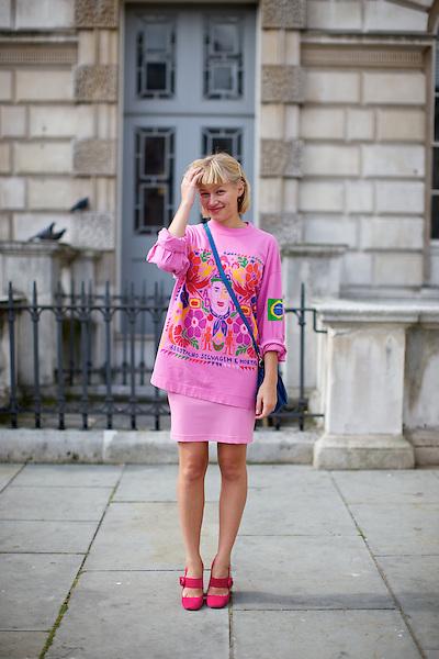 London Fashion Week Street Style Photograph