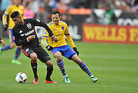 Washington, D.C. - March 20, 2016: D.C. Untied tied the Colorado Rapids 1-1 during their Major League Soccer (MLS) match at RFK Stadium.